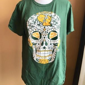 America s Finest Apparel Shirts - Sugar skull Jeremy Nash Green Bay Packers  men s t 12b585bf1